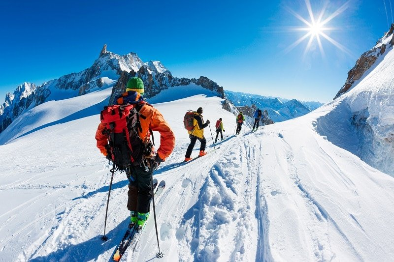 Chamonix, station de ski, France