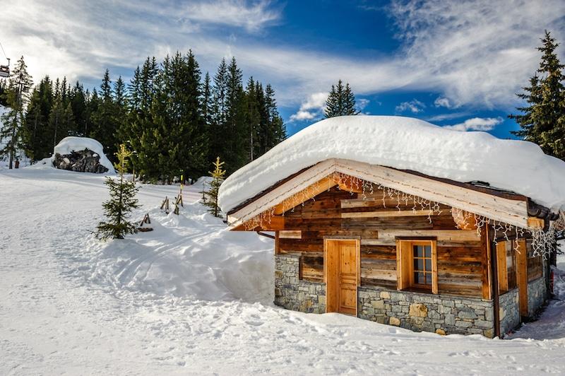 Courchevel-Station de ski, France