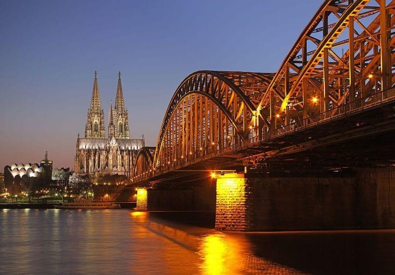 Deutzer brücke, Cologne
