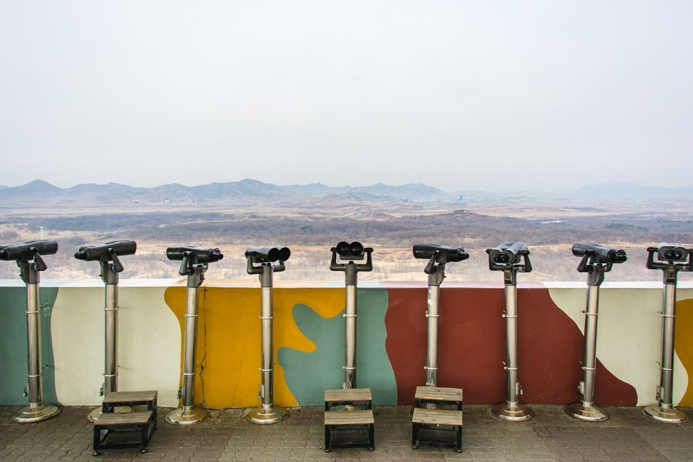 Frontière, DMZ, Corée du Sud