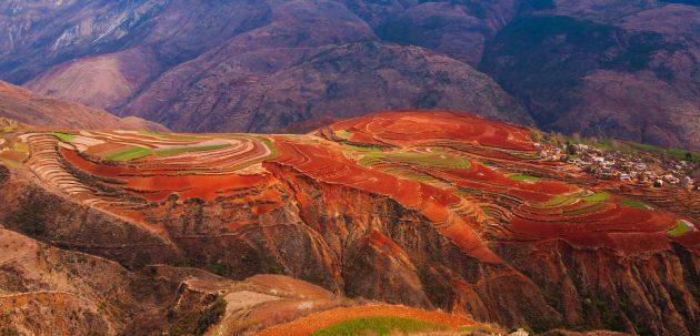 Dongchuan Red Land en Chine:le chef-d'œuvre naturel du Yunnan