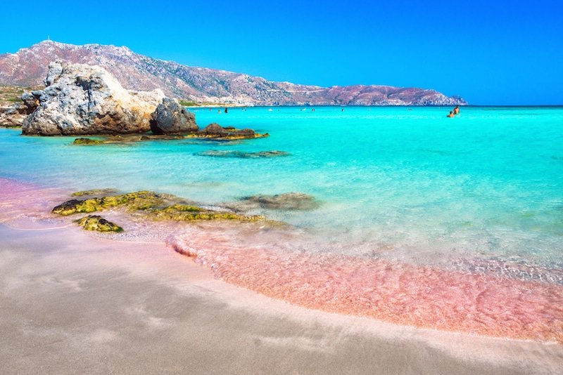 Elafonisi, Crète