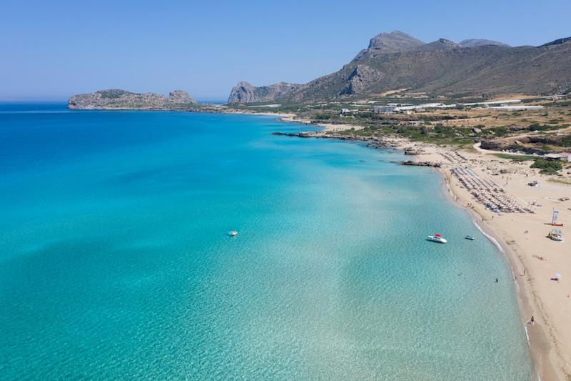 Falasarna, Crète