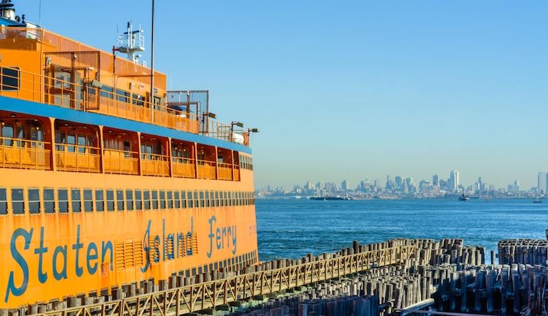 Ferry de Staten Island, New-York