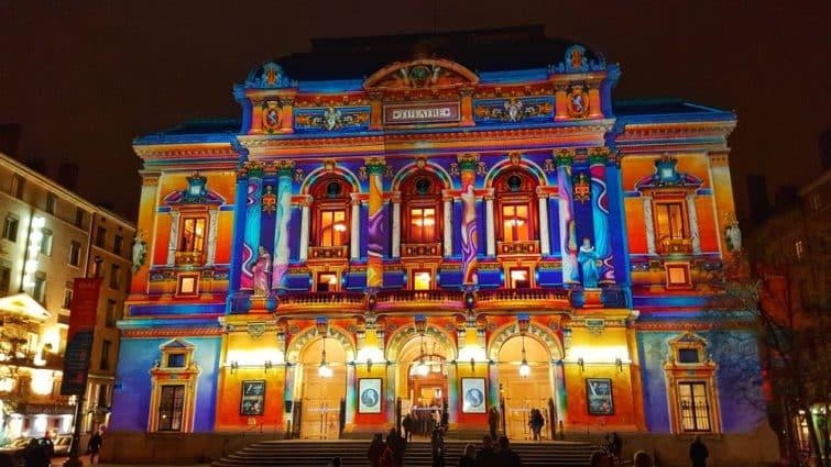 Théâtre des Célestins, Fête des Lumières, Lyon