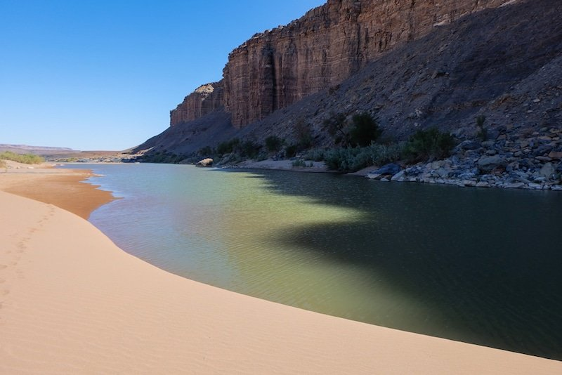 Fish Canyon River, Namibie