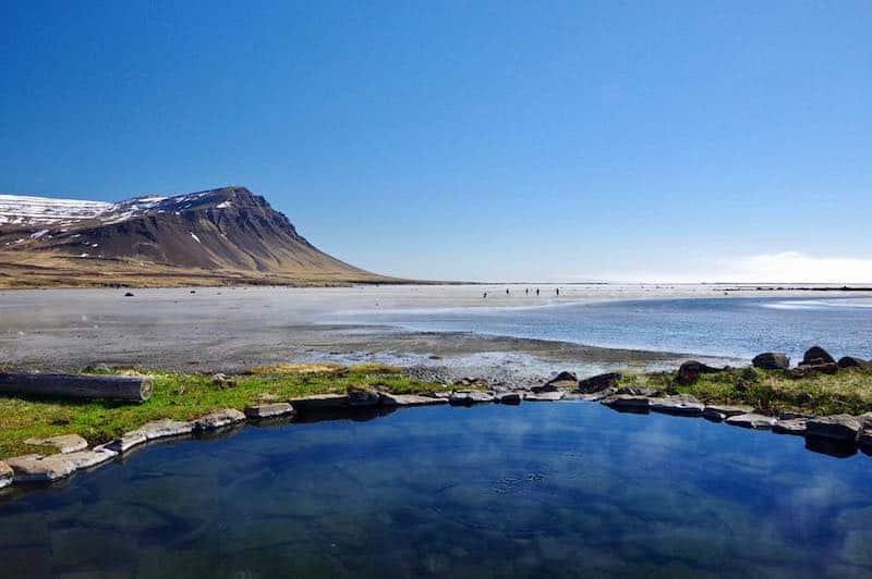 Hellulaug, Islande