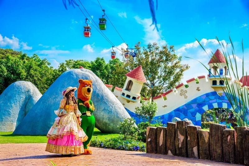 Histoire du parc d'attractions Dreamworld à Bangkok
