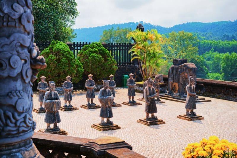Histoire des monuments de Huế, Vietnam