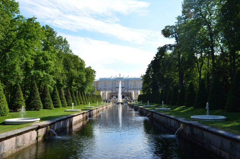 Histoire du palais Peterhof, Saint Petersbourg