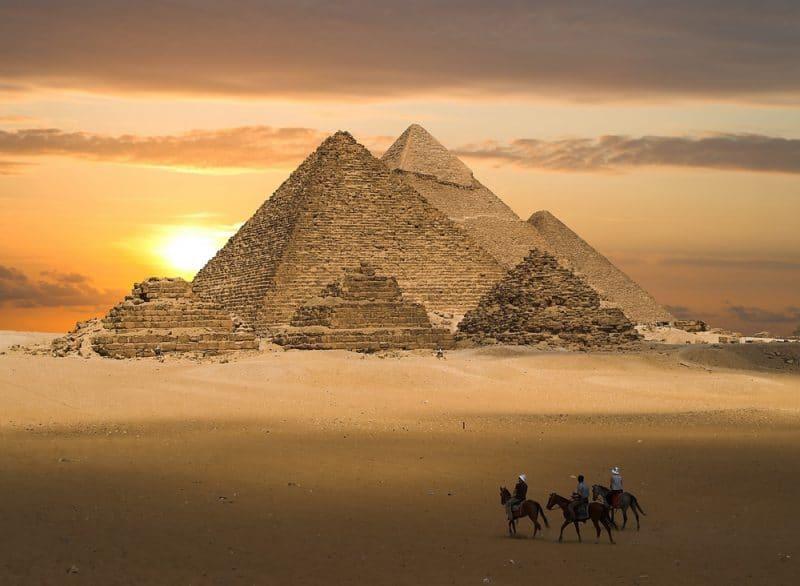 Histoire des Pyramides de Gizeh