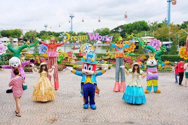 Horaires et tarifs du parc Dream World à Bangkok