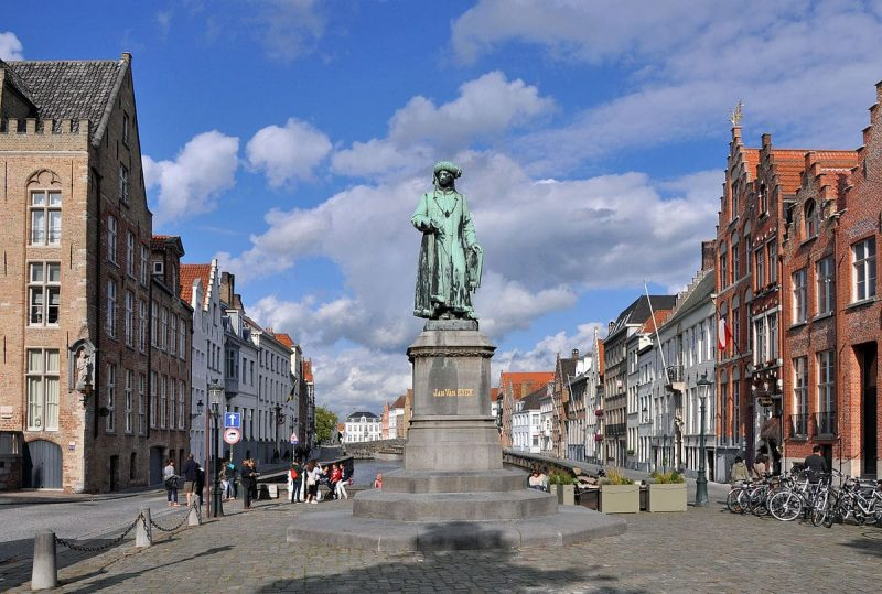 Jan van Eyck statue, Bruges
