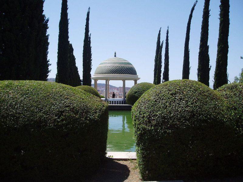 jardin botanique de la Concepción, Malaga