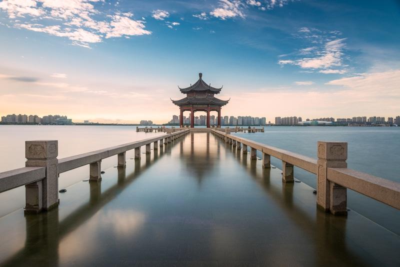 Jinji Lake, Jiangsu