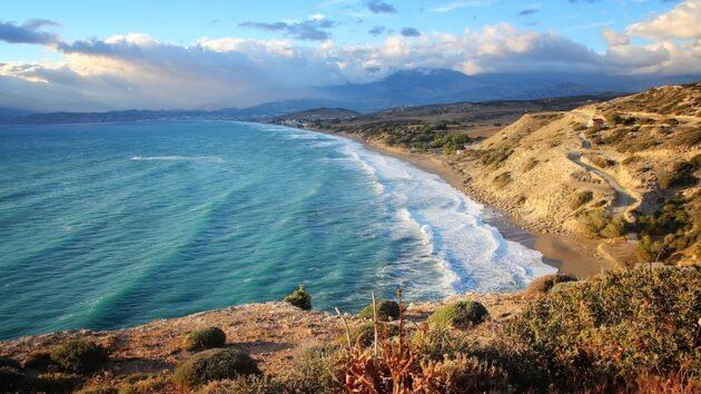 Location de voiture en Crète : conseils, tarifs, itinéraires
