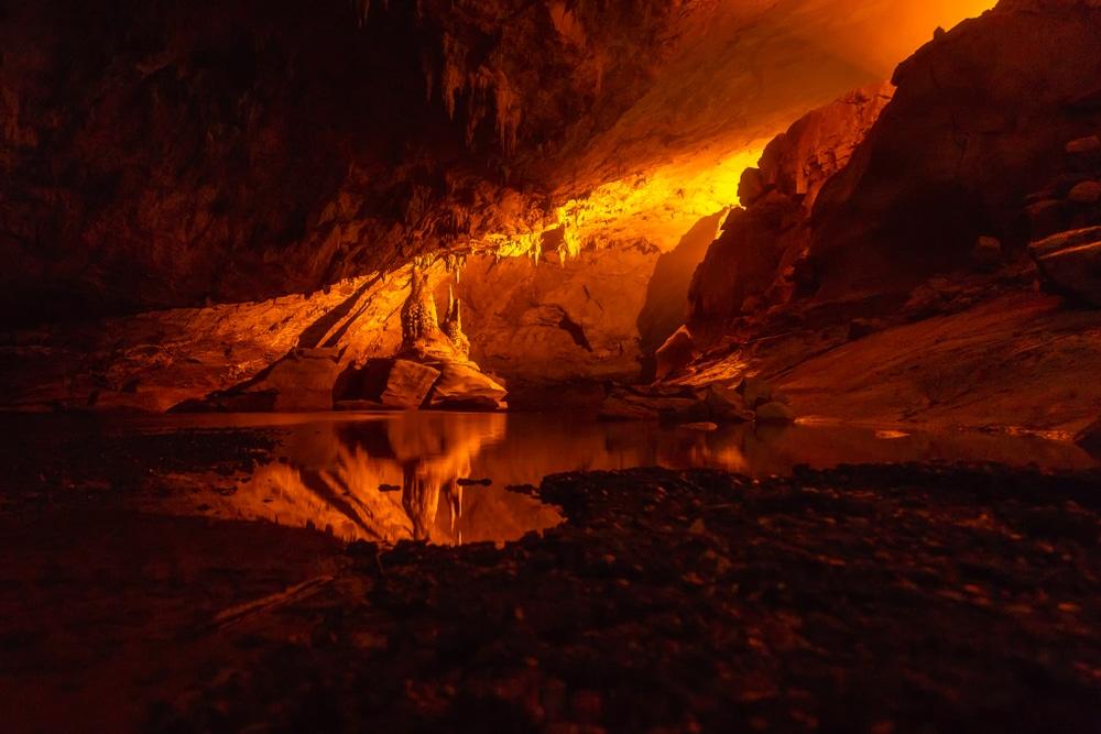 Grottes de Kong Lor, Laos