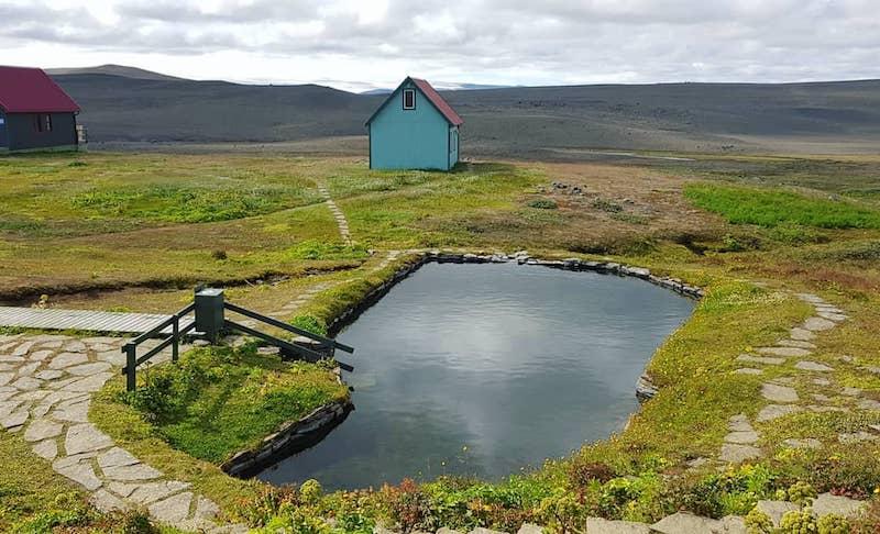 Laugafell, Islande