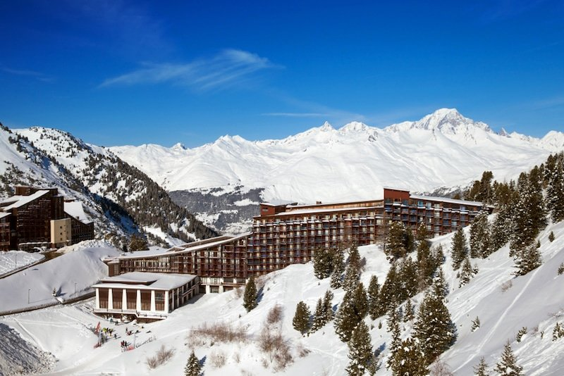 Les Arcs-Station de ski, France