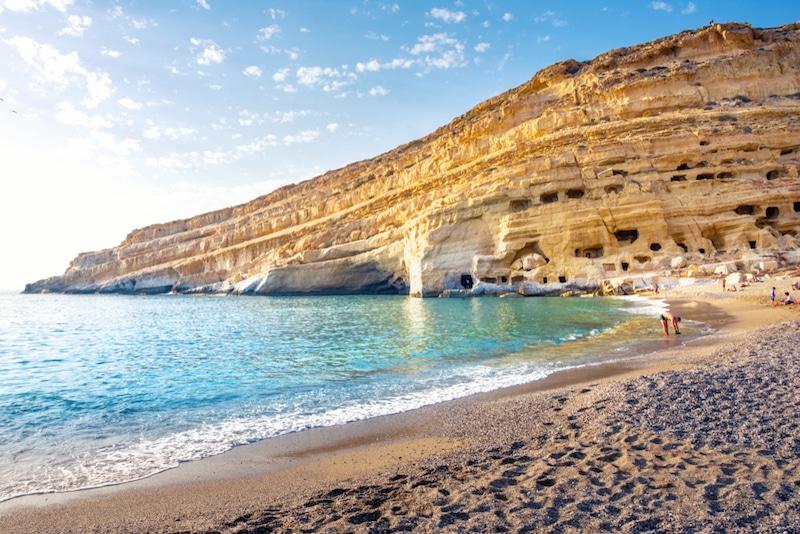 Matala, Crète