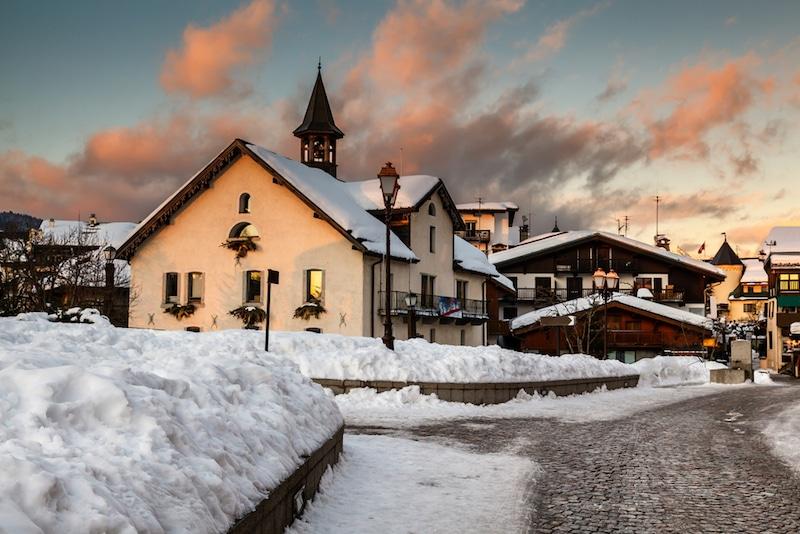 Megève-Station de ski, France