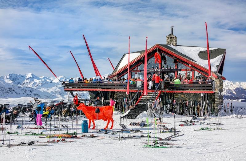 Méribel-Station de ski, France
