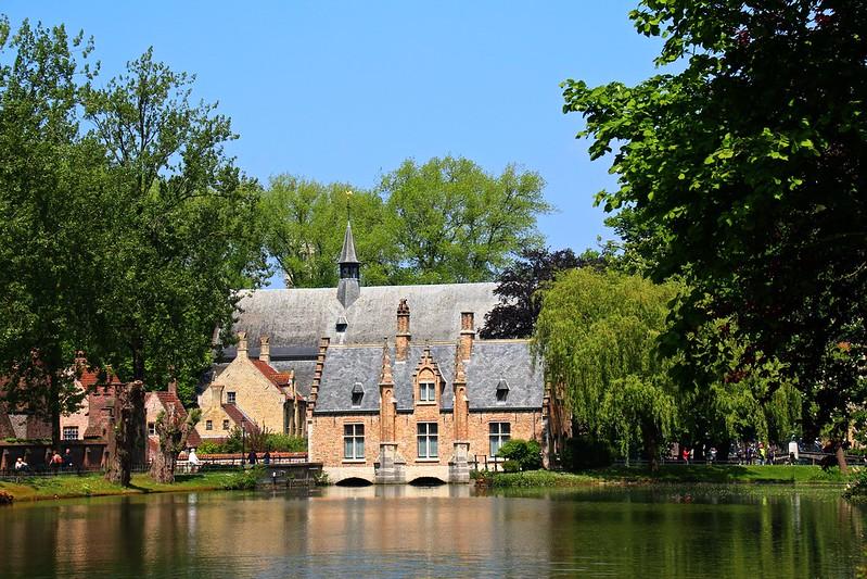 Minnewatter, Lac de l'amour, Bruges