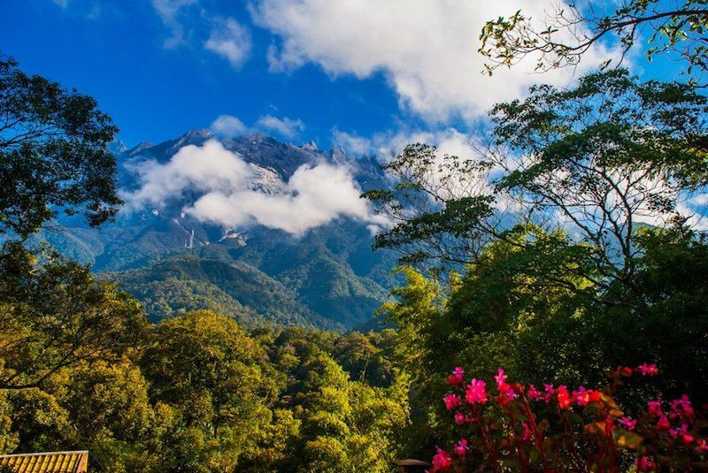 Mont Kinabalu, Borneo