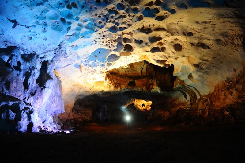 Grottes Mont Meratus, Borneo