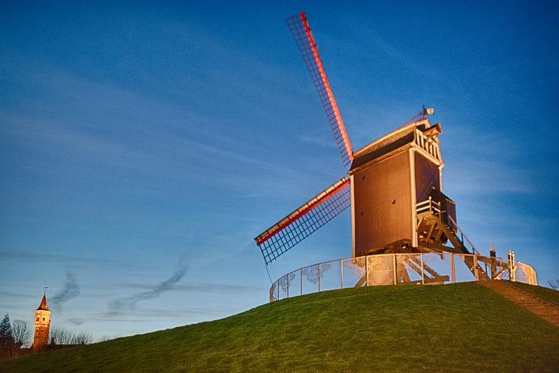 Moulins à Bruges