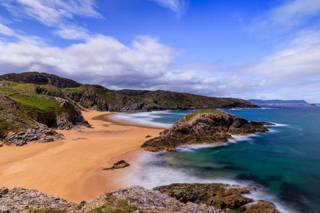 La baie de Boyeeghter, ou l'Irlande dans toute sa splendeur