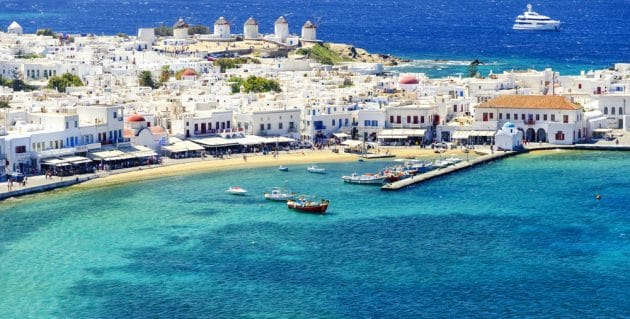 Comment aller à Mykonos depuis Paros en ferry ?