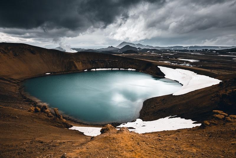 Myvatn, Islande