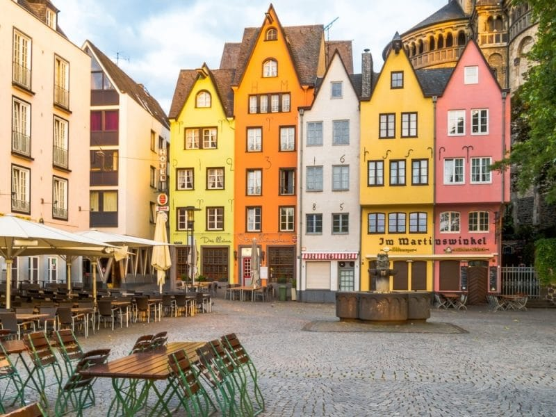 Vieille ville de Cologne