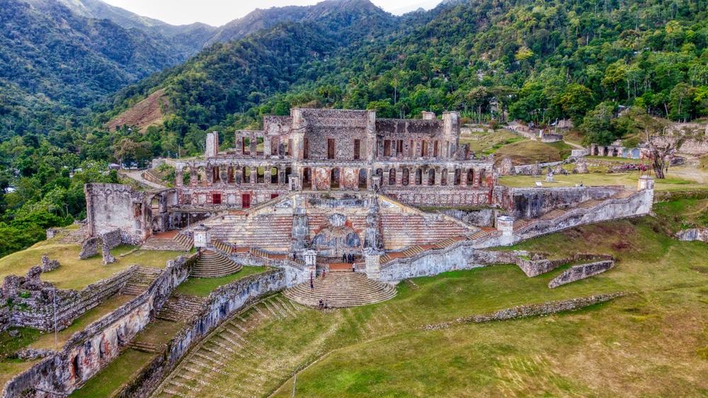 Palais Sans Soucis, Milot, Parc Naturel Historique, Haïti