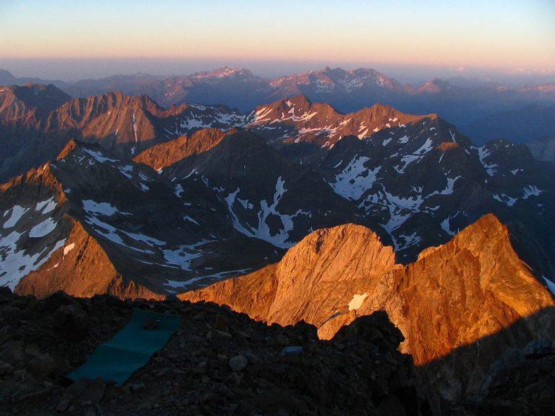 Pique Longue du Vignemale, Parc national des Pyrénées