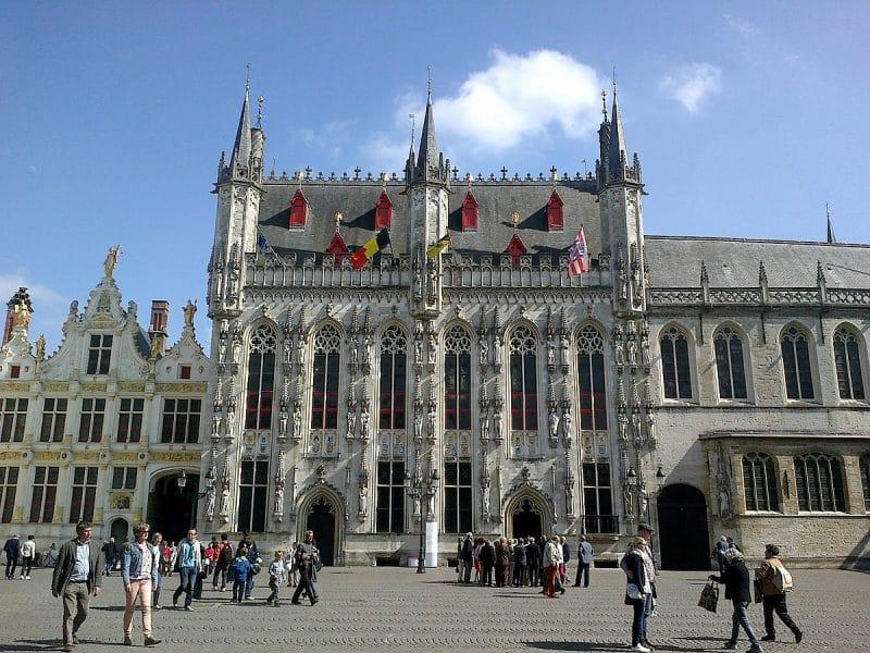 Place du Bourg, Bruges