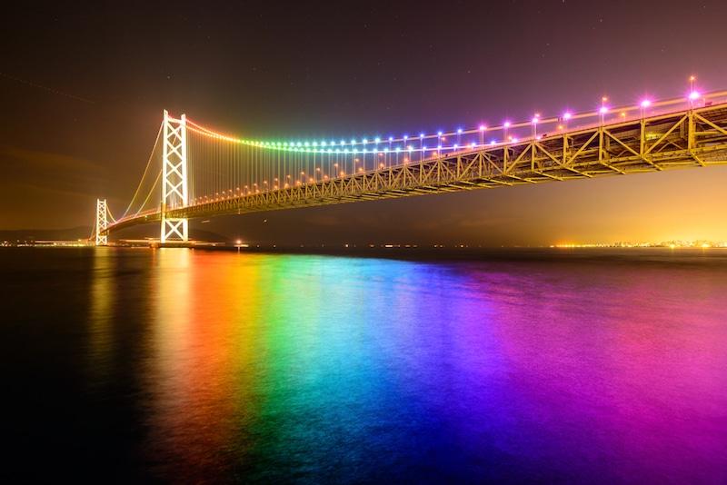 Pont Akashi Kaikyo, Kobe