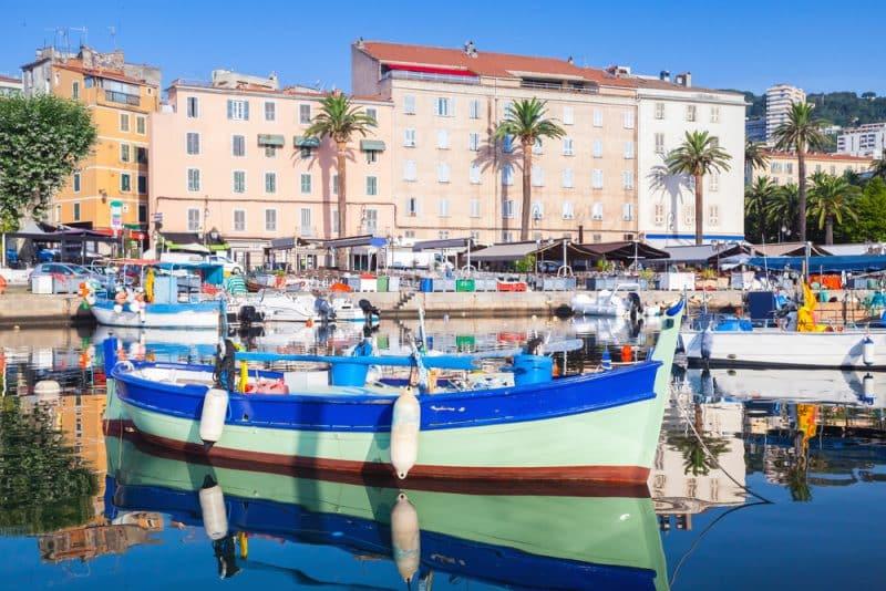 Bateaux, Port d'Ajaccio