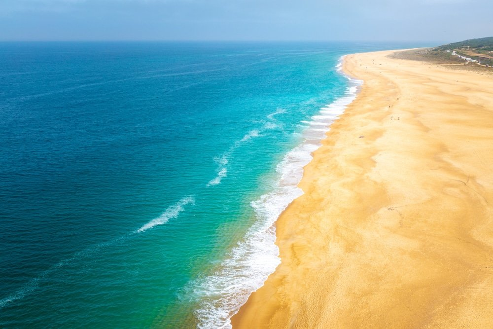 Praia do Norte, Potugal