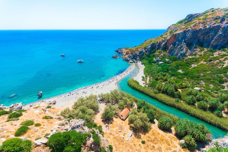 Preveli, Crète