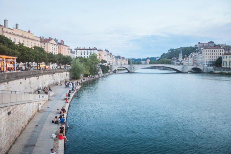 Quais du Rhône et de la Saône, Lyon