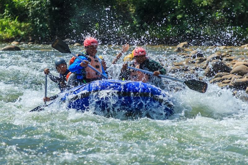 Rafting, Sabah