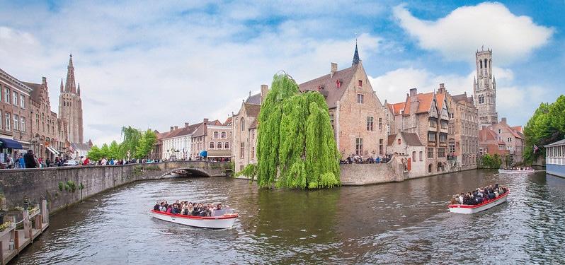 Quai du Rosaire, Rozenhoedkaai, Bruges