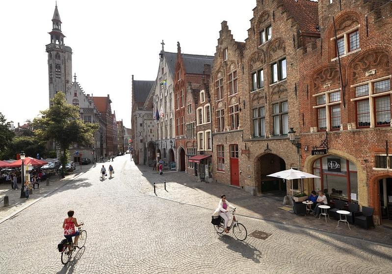 Ruelles pavées, Bruges