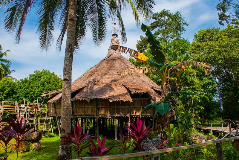 Sarawak Cultural Village, Borneo