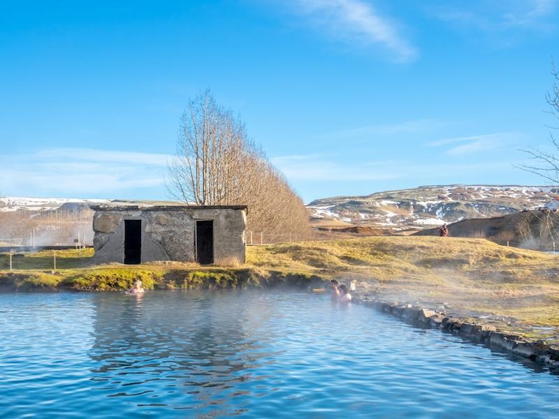 Secret Lagoon, Islande