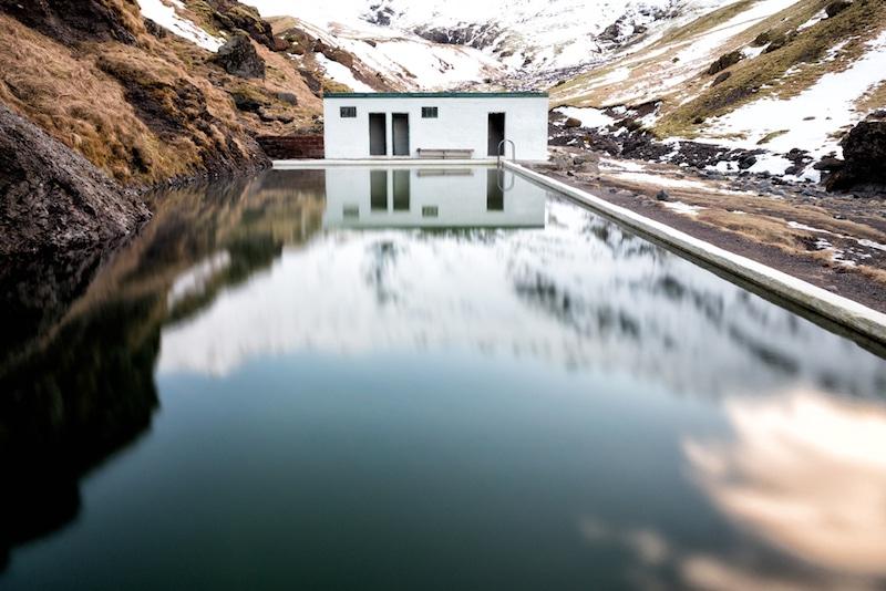 Seljavallalaug, Islande