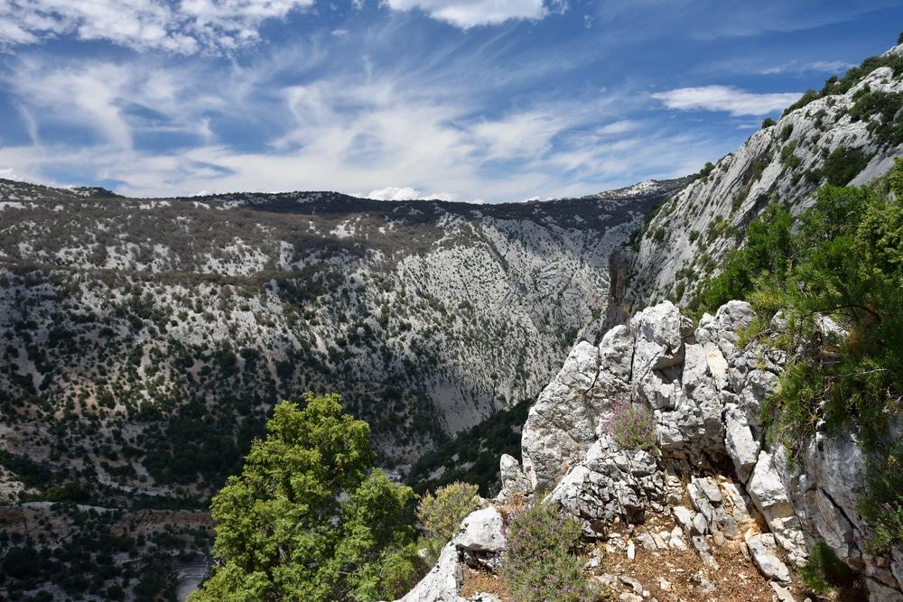 Massif de Supramonte, Sardaigne