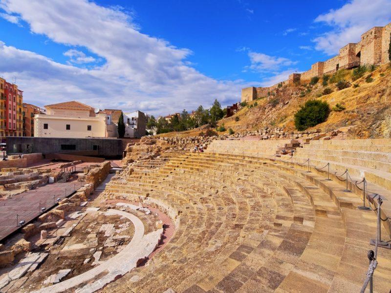 Théâtre romain, Alcazaba, Malaga